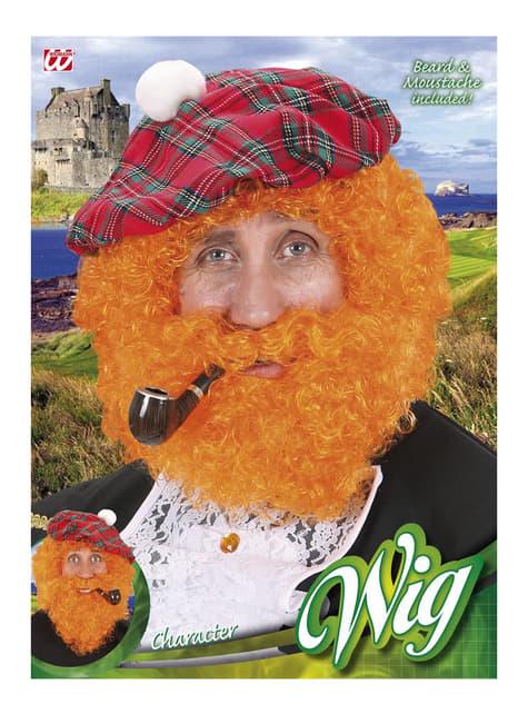 Peluca escocesa - Halloween