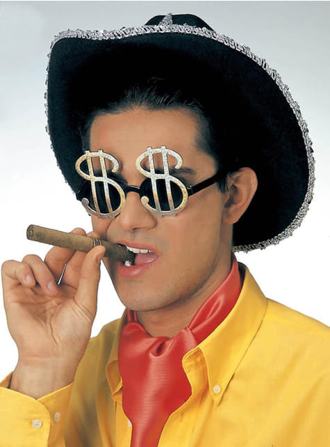 Gafas dólar - para tu disfraz