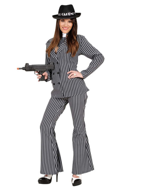 Machine gun gangster