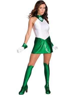 Disfraz de linterna verde para chica