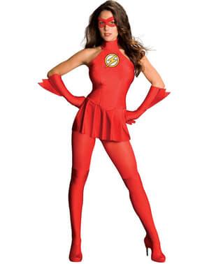 Flash kostuum voor vrouwen
