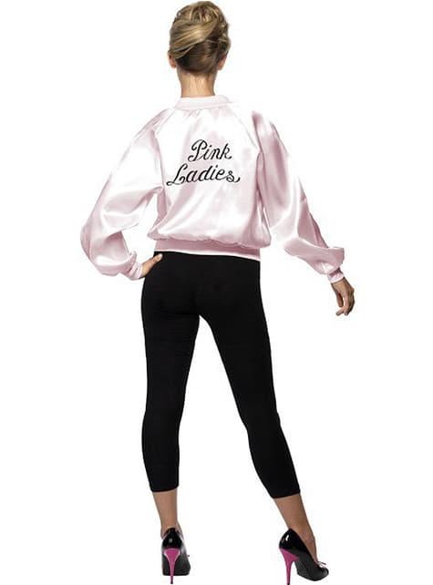 Grease pink jakke dame