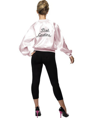 Ladies Pink Lady Hen Night 50/'s 1950/'s Rock N Roll Official Grease Jacket Lot