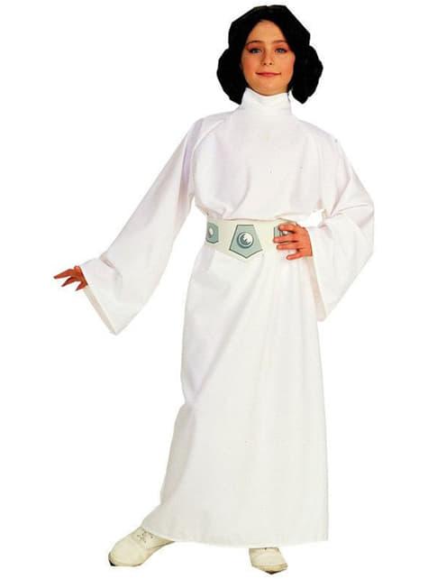 Mädchenkostüm Prinzessin Leia