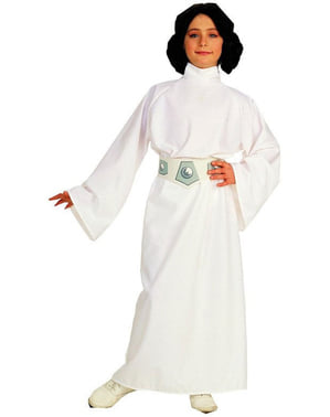 Prinsesse Leia kostyme til jente