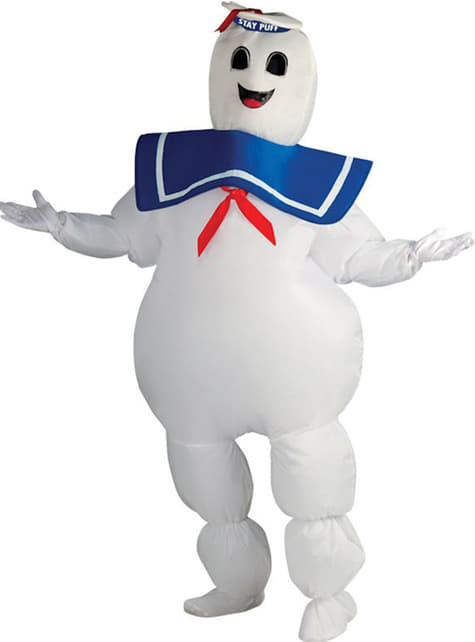 Fato de Marshmallow de Os Caça-Fantasmas