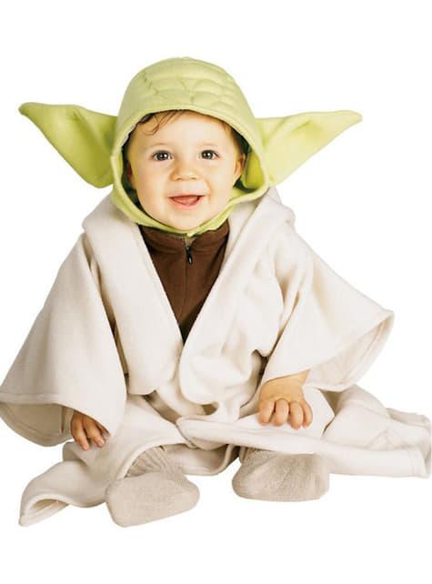 Disfraz de Yoda de Star Wars para bebé