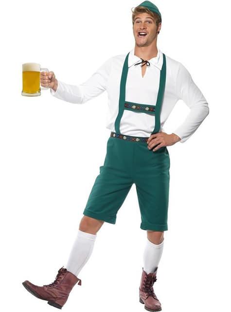 Oktoberfest Saksalainen oluenjuoja -asu aikuisille