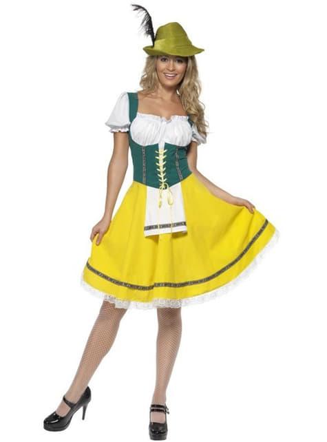 Ženski kostim Oktoberfest