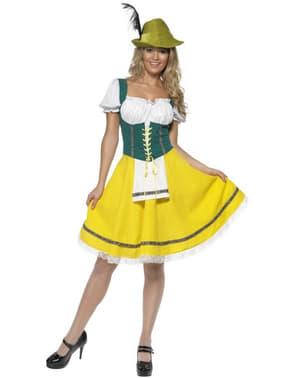 Oktoberfest Saksalainen neito -asu aikuisille