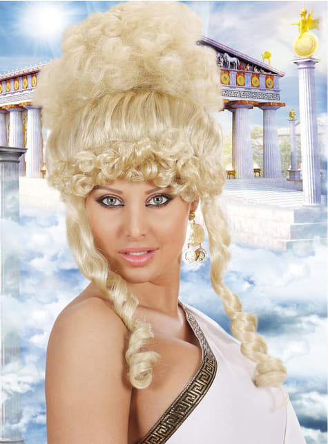 Peluca Diosa griega
