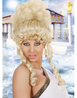 Perruque déesse grecque