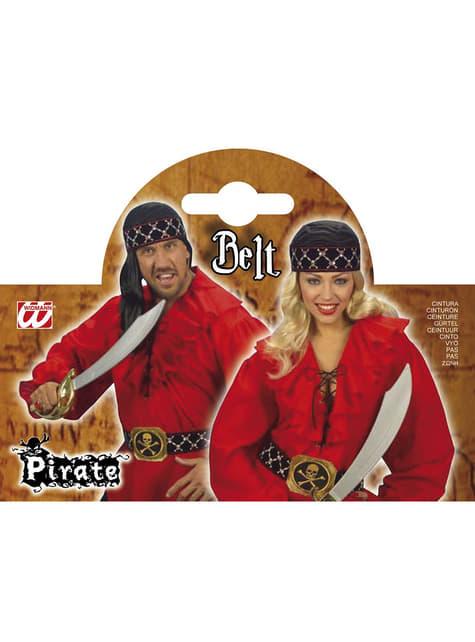 Cinturón pirata - Carnaval