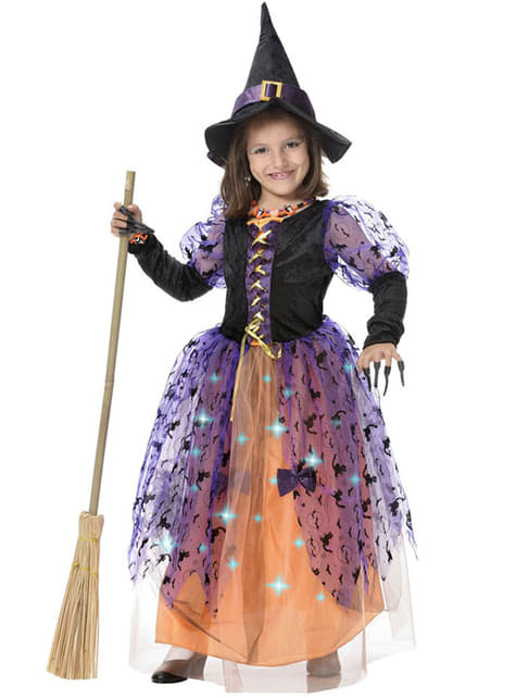 Fato de bruxinha para menina