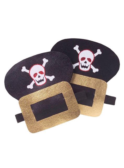 Broches zapatos pirata