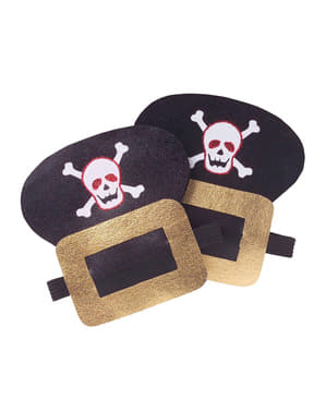 Broches zapatos pirata