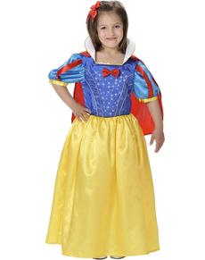 Costum regina Zăpadă pentru fată