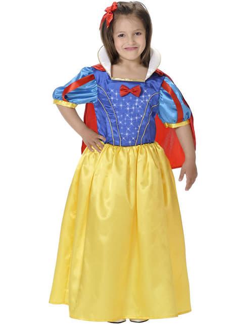 Disfraz de reina Nieves para niña