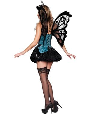 Sexy vlinder kostuum voor vrouw