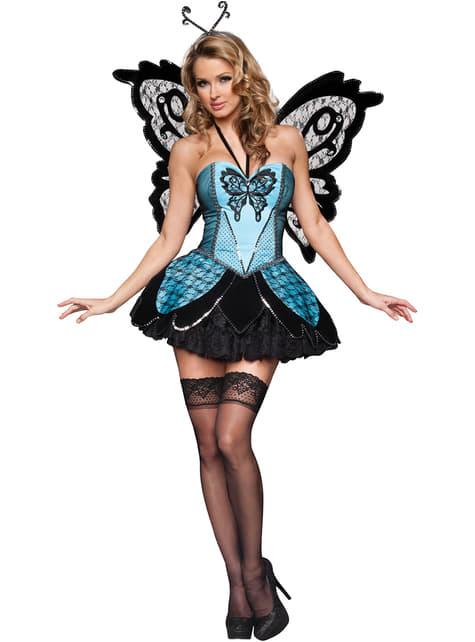 Kostüm sexy Schmetterling für Frauen