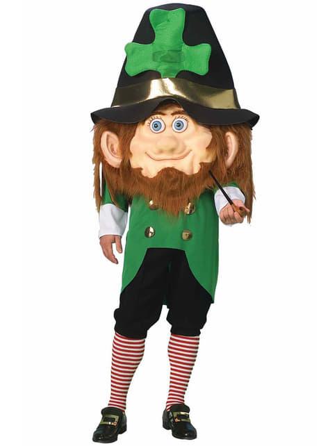 Big Headed Leprechaun Adult Costume
