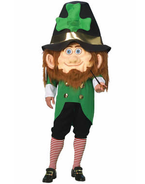 Big Headed Leprechaun Adult Costume
