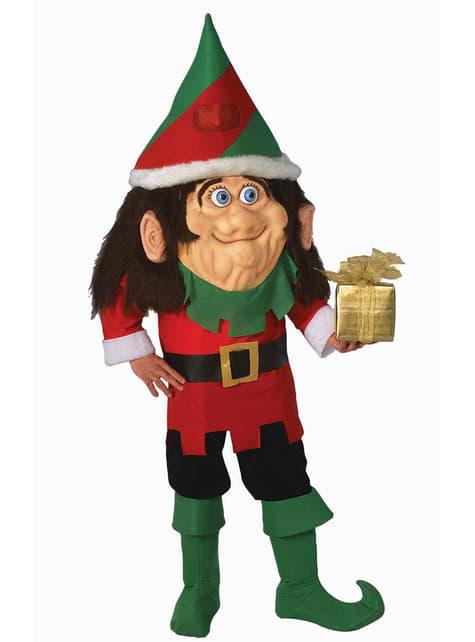 Fato de elfo cabeçudo