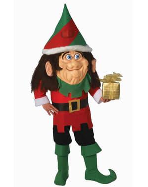 Disfraz de elfo cabezón