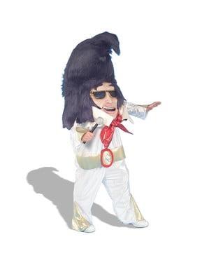 Stort Hode Elvis Kostyme
