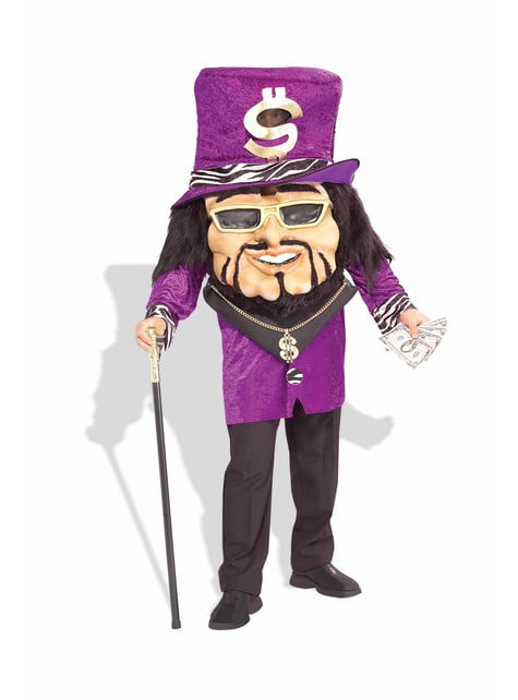 Big Headed Pimp Adult Costume