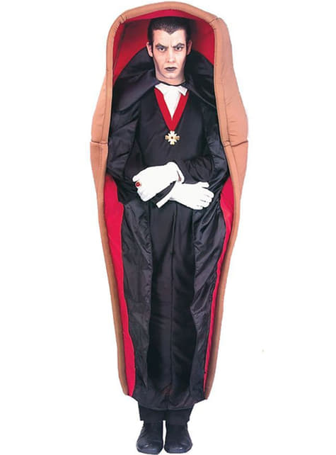 Dracula in His Coffin Adult Costume
