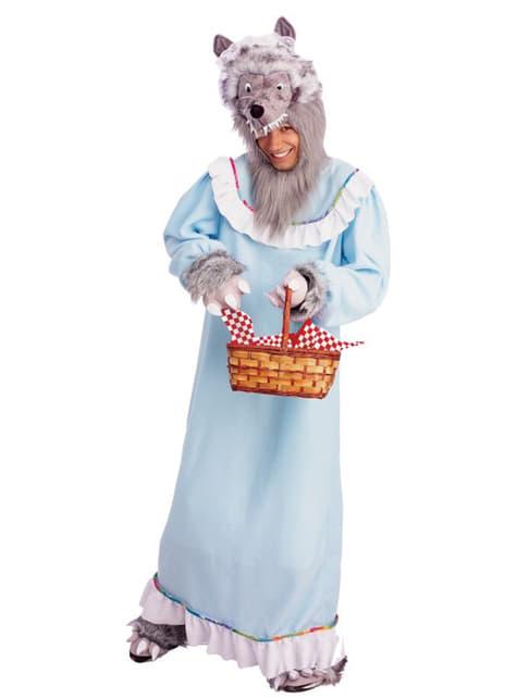Costum de bunicuță lup