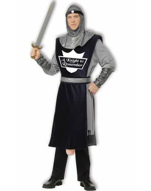 Fato de guerreiro Constantino com arma em forma de pepino