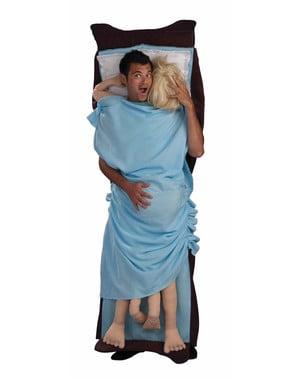 Mann im Bett Kostüm