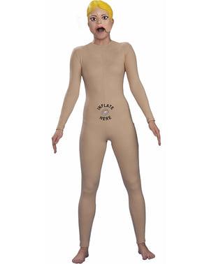 Disfraz de muñeca hinchable mujer