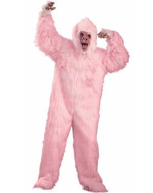 Loved Up Pink Gorilla Adult Costume