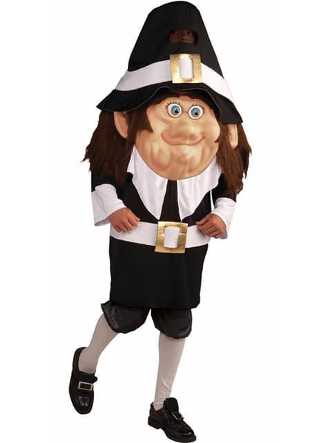 Disfraz de Pilgrim cabezón