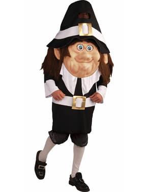 Großköpfiges Pilgrim Kostüm