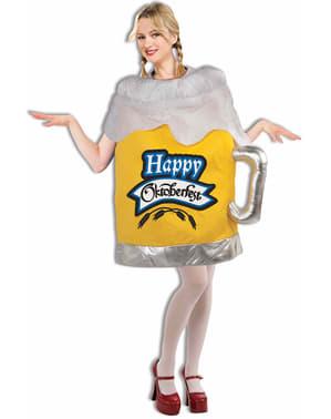 Strój dzbanek pełen piwa oktoberfest