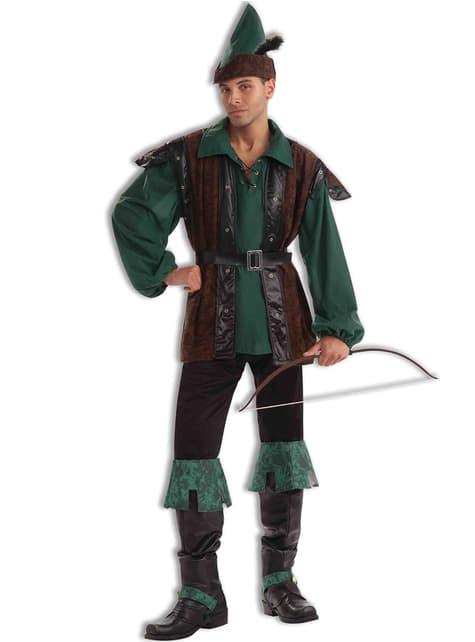 Fato de Robin Hood da floresta