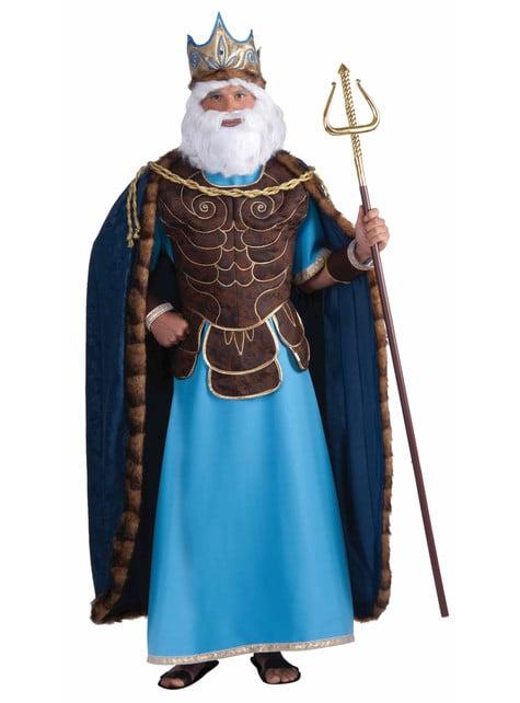 Fato de rei Neptuno