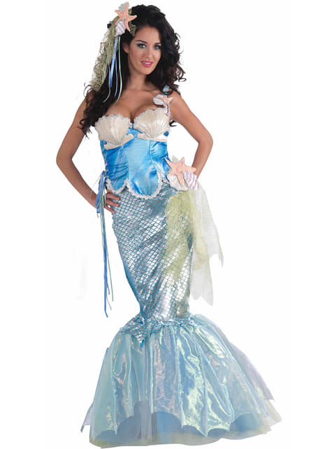 Bezauberndes Meerjungfrau Kostüm