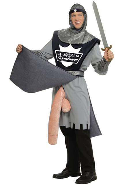 Strój wojownik Konstatyn z bronią