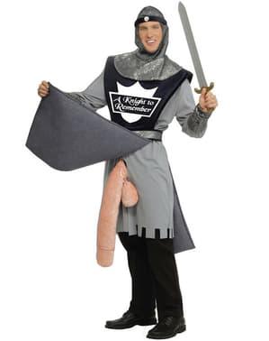 Disfraz de guerrero Constantino con arma en forma de pepino
