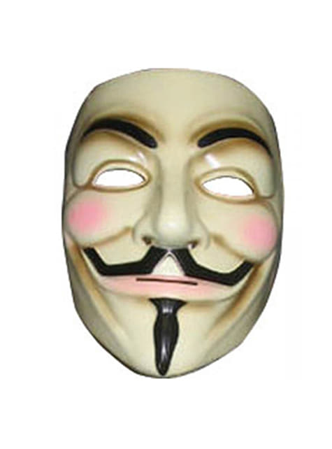 Guy Fawkes V for Vendetta Maske
