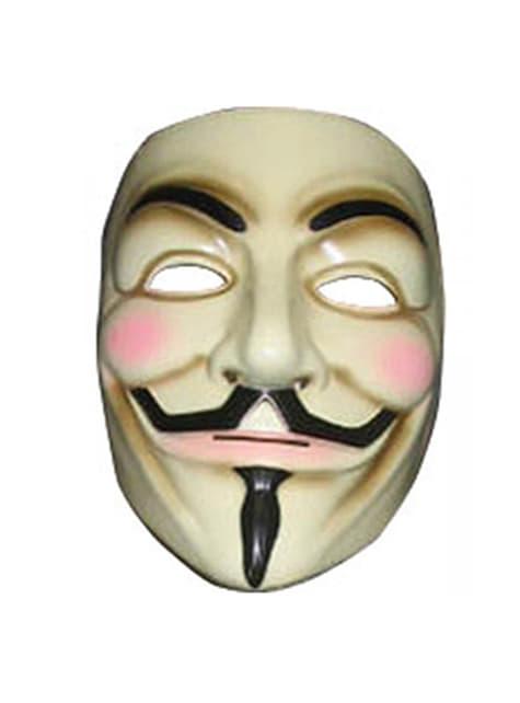 Maschera V per Vendetta: Guy Fawkes