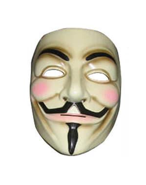Maska Guy Fawkes V jak Vendetta