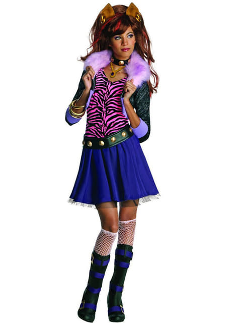 Monster High Clawdeen Maskeraddräkt
