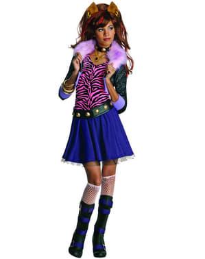 תלבושות גבוהות מפלצת Clawdeen ילדים
