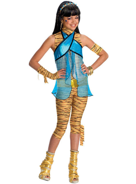 Fato de Cleo de Nile de Monster High
